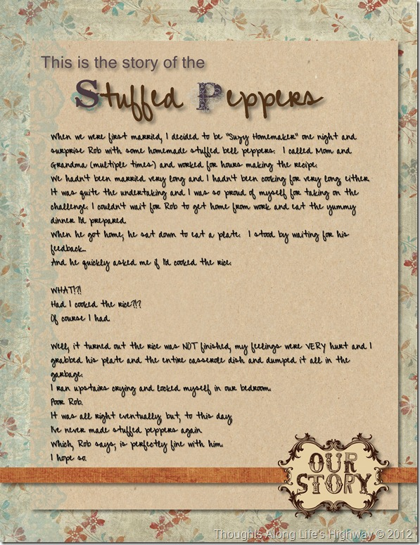 Stuffed Pepper Story